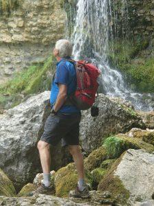 A la cascade de la Doria