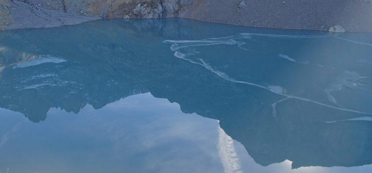 Sortie au Lac Blanc, sous les 3 pics de Belledonne