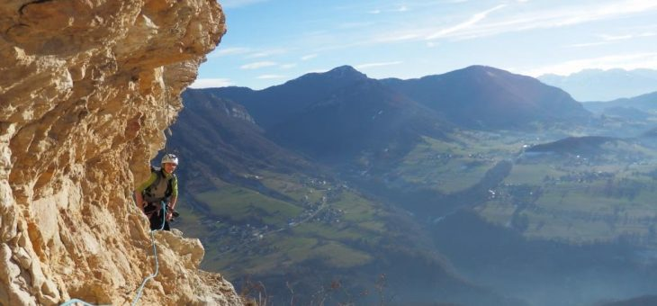 Une belle sortie sous le soleil… Le 11 décembre en Savoie !