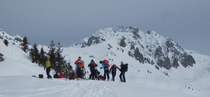 Ski Alpinisme, Pic de la Pierre en Belledonne et Le Grand Mas en Lauziéres