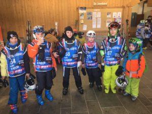Les 5 skieur de Neige & Montagne