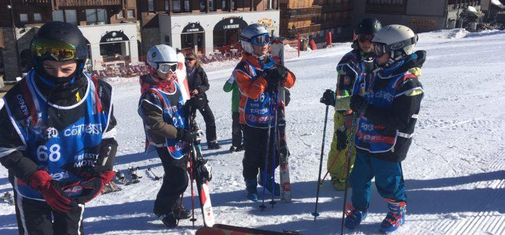 Moisson de médailles pour les skieurs N&M au Kid Contest 2018 de Courchevel