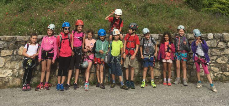 Week-end à Orpierre pour les enfants de l'escalade