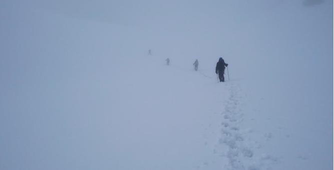 1ere sortie alpinisme