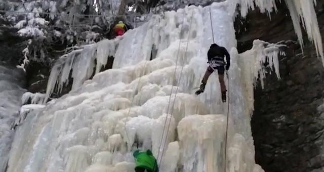 Cascade de glace!!!