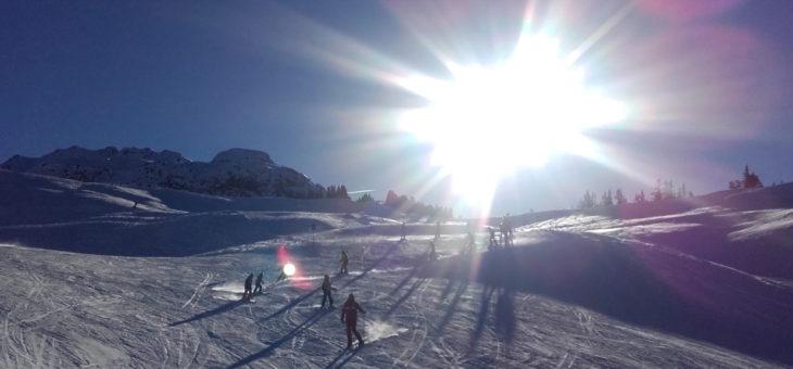 Première sortie de la saison 2018 pour le Ski des enfants