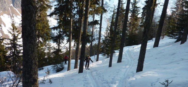 WE ski de fond à Bessans