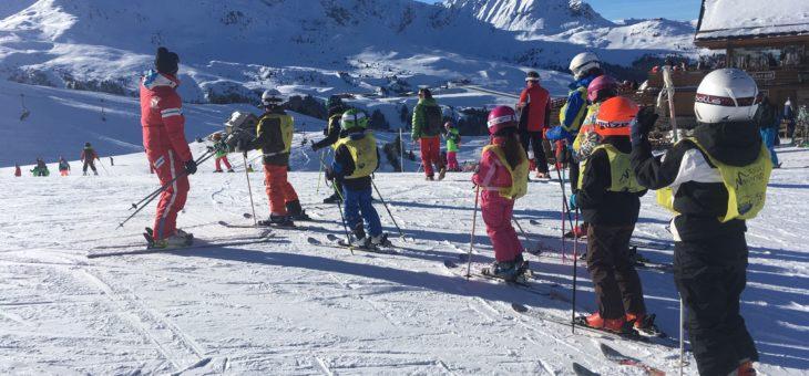 C'est reparti pour le ski des enfants